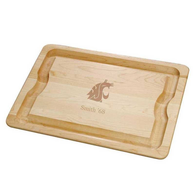 615789972211: Washington State Univ Maple Cutting Board