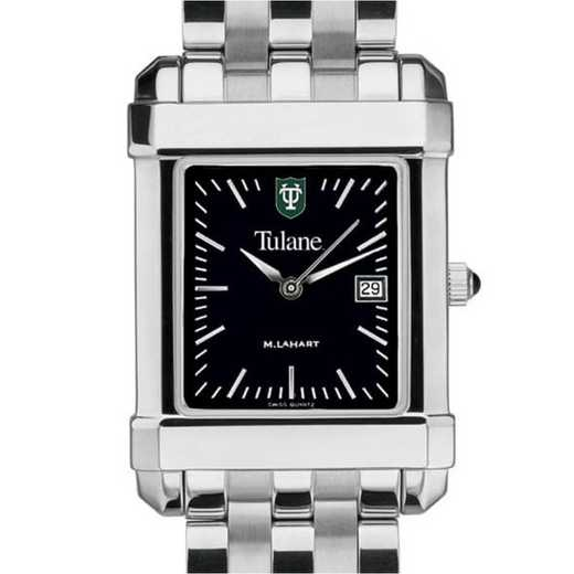 615789108412: Tulane Men's Black Quad with Bracelet