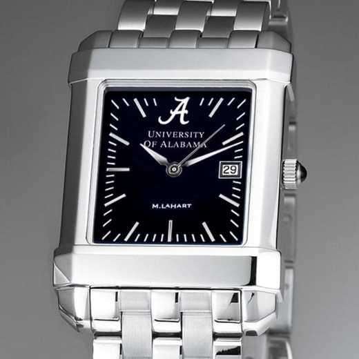 615789407386: Alabama Men's Black Quad Watch with Bracelet