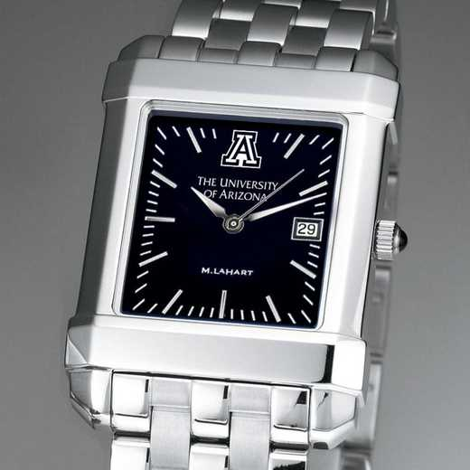 615789493464: Univ of Arizona Men's Black Quad with Bracelet