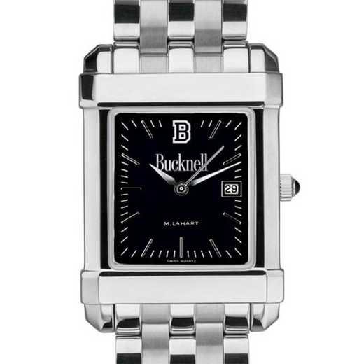 615789716532: Bucknell Men's Black Quad with Bracelet