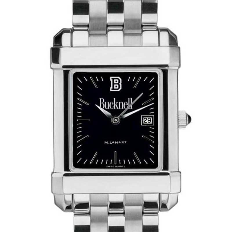 615789716532: Bucknell Men's Black Quad with Bracelet