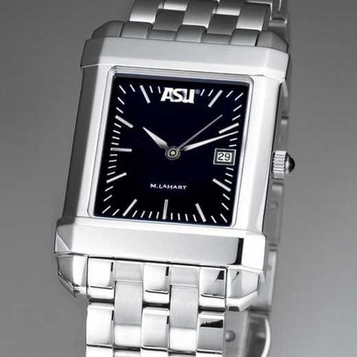 615789832911: ASU Men's Black Quad Watch with Bracelet