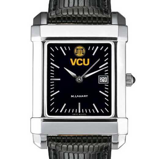 615789232278: VCU Men's Black Quad with Leather