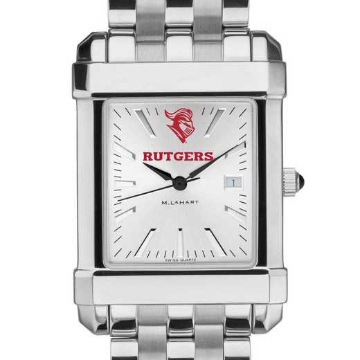 615789272601: Rutgers Univ Men's Collegiate Watch w/ Bracelet