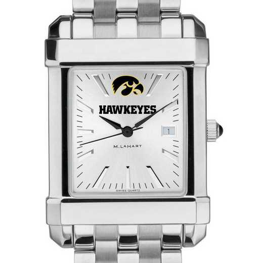 615789274780: Univ of Iowa Men's Collegiate Watch w/ Bracelet