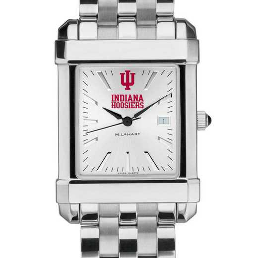 615789283744: Indiana Univ Men's Collegiate Watch w/ Bracelet