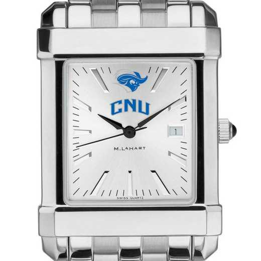 615789618027: Christopher Newport Univ Men's Collegiate Watch w/ Bracelet