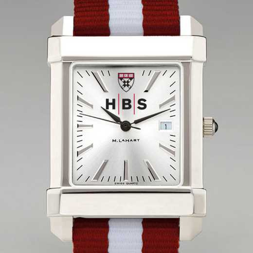 615789183341: Harvard Business School Collegiate Watch w/NATO Strap Men