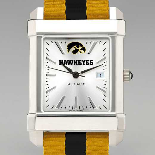 615789665311: Univ of Iowa Collegiate Watch with NATO Strap for Men