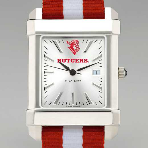 615789668718: Rutgers Univ Collegiate Watch with NATO Strap for Men