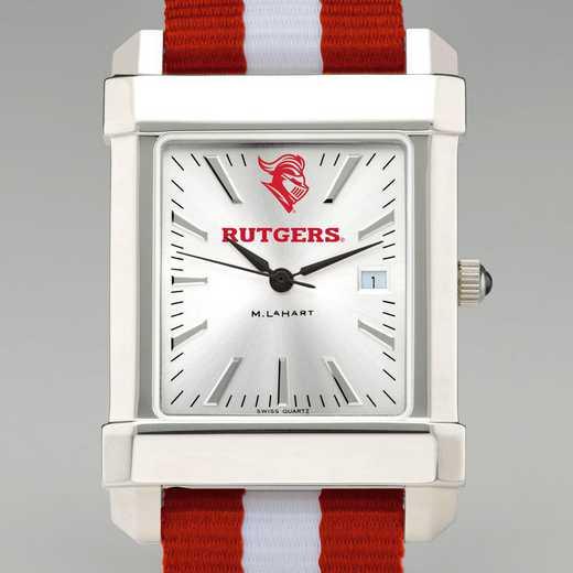 615789668718: Rutgers Univ Collegiate Watch with NATO Strap for Men