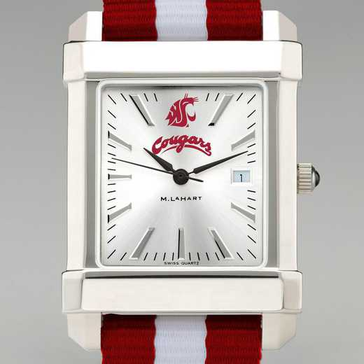 615789991816: Washington State Univ Collegiate Watch with NATO Strap Men