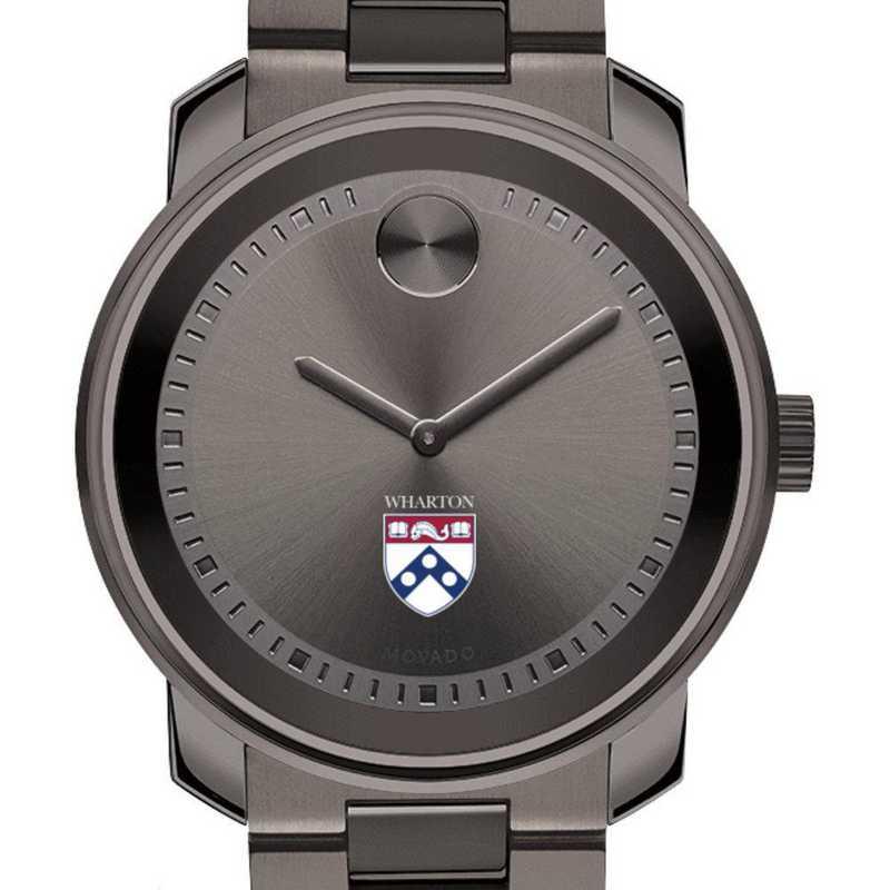 615789134633: Wharton Men's Movado BOLD Gunmetal Grey