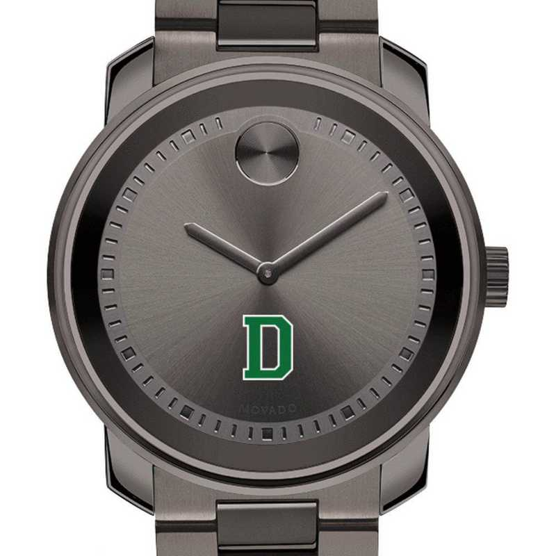 615789222750: Dartmouth College Men's Movado BOLD gnmtl gry