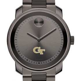 615789362982: Georgia Tech Men's Movado BOLD gnmtl gry