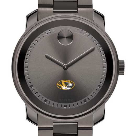 615789417729: Univ of Missouri Men's Movado BOLD gnmtl gry