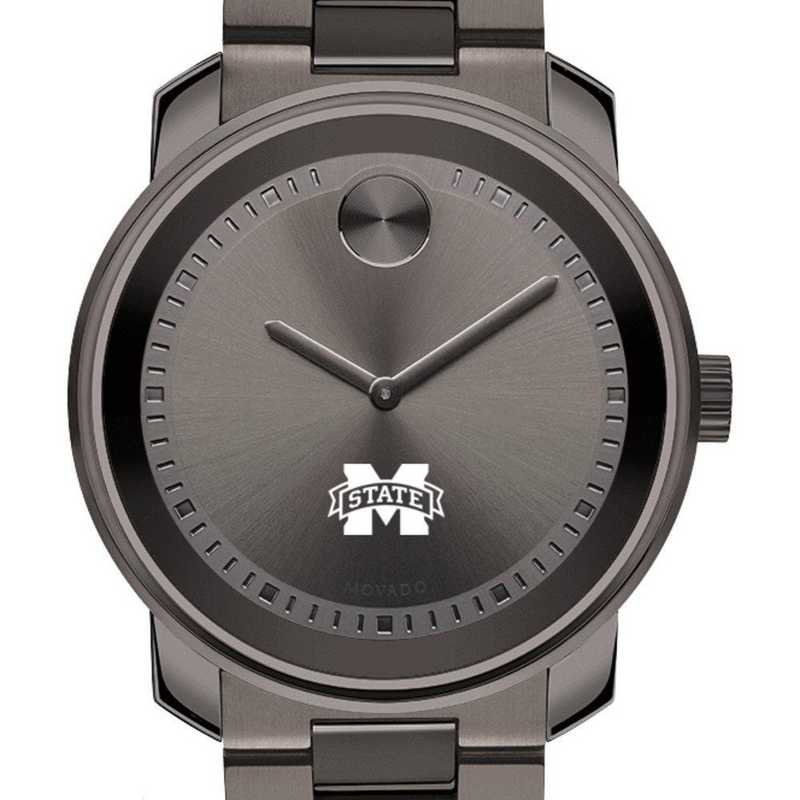 615789444350: Mississippi State Men's Movado BOLD gnmtl gry