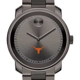 615789465560: Univ of Texas Men's Movado BOLD gnmtl gry