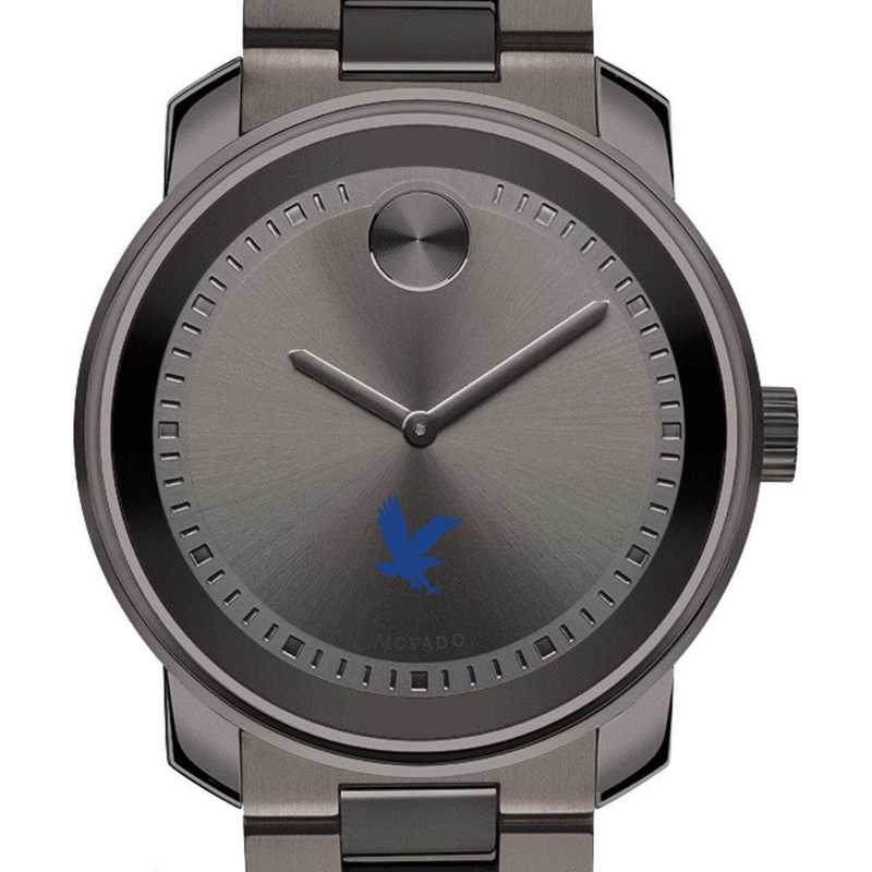 615789511007: Embry-Riddle Men's Movado BOLD gnmtl gry