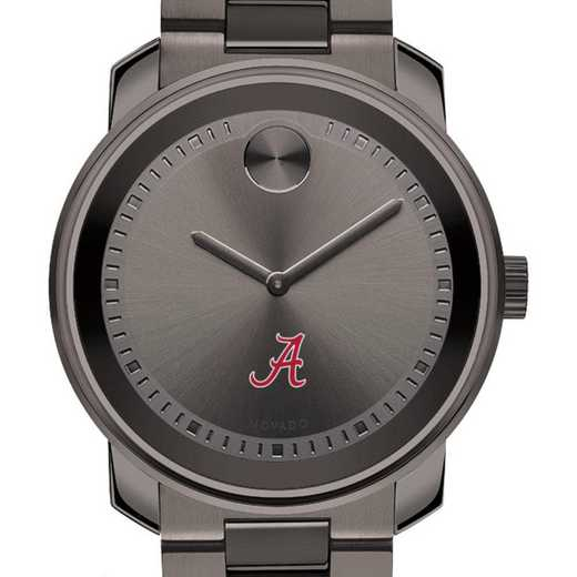 615789512370: Univ of Alabama Men's Movado BOLD gnmtl gry