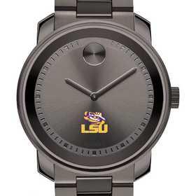615789659310: Louisiana State Univ Men's Movado BOLD gnmtl gry