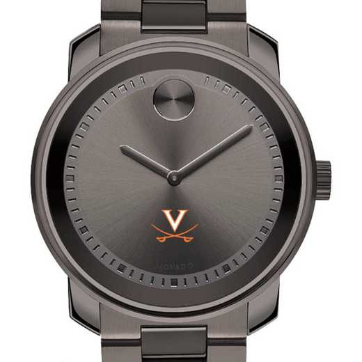 615789702849: Univ of Virginia Men's Movado BOLD gnmtl gry