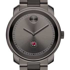 615789776666: Univ of South Carolina Men's Movado BOLD gnmtl gry