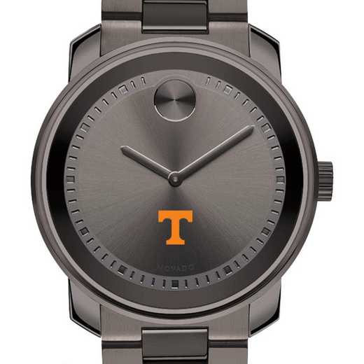 615789829362: Univ of Tennessee Men's Movado BOLD gnmtl gry