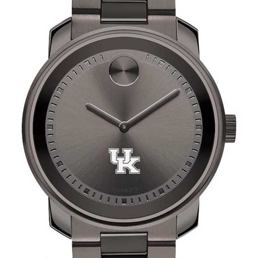 615789829683: Univ of Kentucky Men's Movado BOLD gnmtl gry