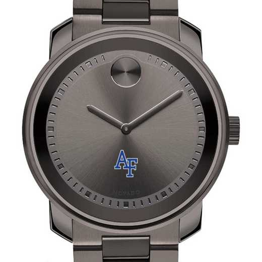 615789862369: US Air Force Academy Men's Movado BOLD gnmtl gry