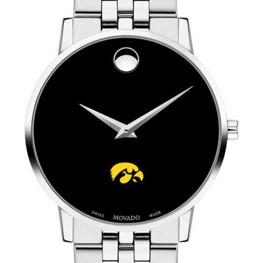 615789122517: Univ of Iowa Men's Movado Museum W/ Bracelet