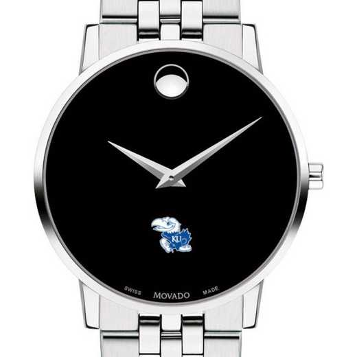 615789709893: Univ of Kansas Men's Movado Museum W/ Bracelet