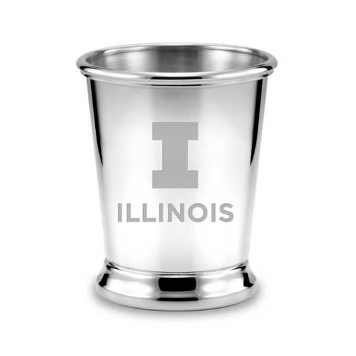 615789053248: Univ of Illinois Pewter Julep Cup