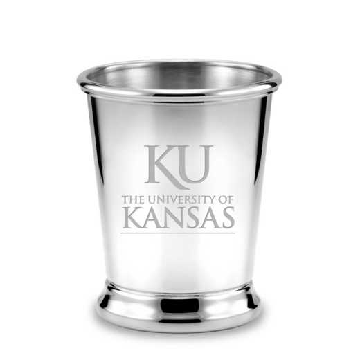 615789479505: Univ of Kansas Pewter Julep Cup