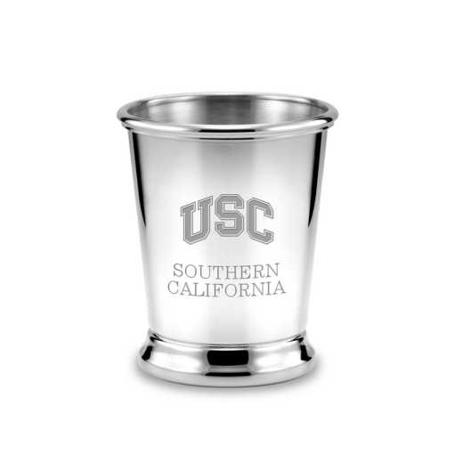 615789760276: Univ of Southern California Pewter Julep Cup
