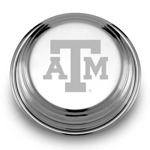 615789169147: Texas A&M Univ Pewter Paperweight