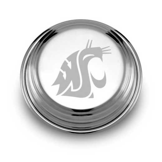 615789406426: Washington State Univ Pewter Paperweight