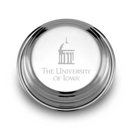 615789536604: Univ of Iowa Pewter Paperweight