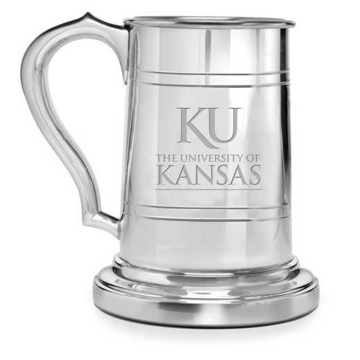 615789757061: Univ of Kansas Pewter Stein