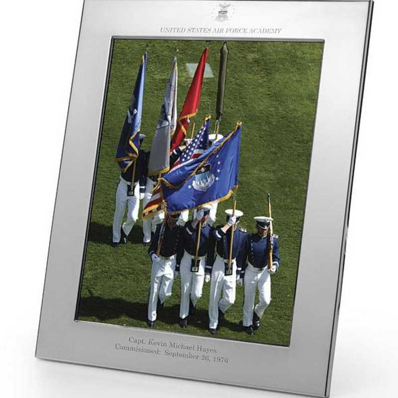 615789154914: Air Force Academy plshed Pewter 8x10 Frame by M.LaHart & Co.