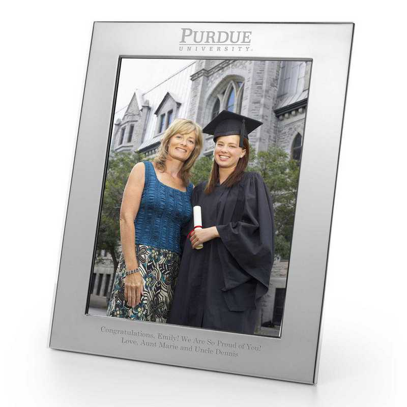 615789349167: Purdue Univ plshed Pewter 8x10  Frame by M.LaHart & Co.