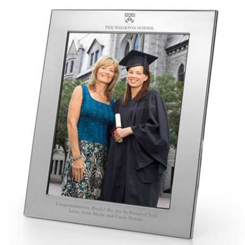 615789468349: Wharton Polished Pewter 8x10 Picture Frame