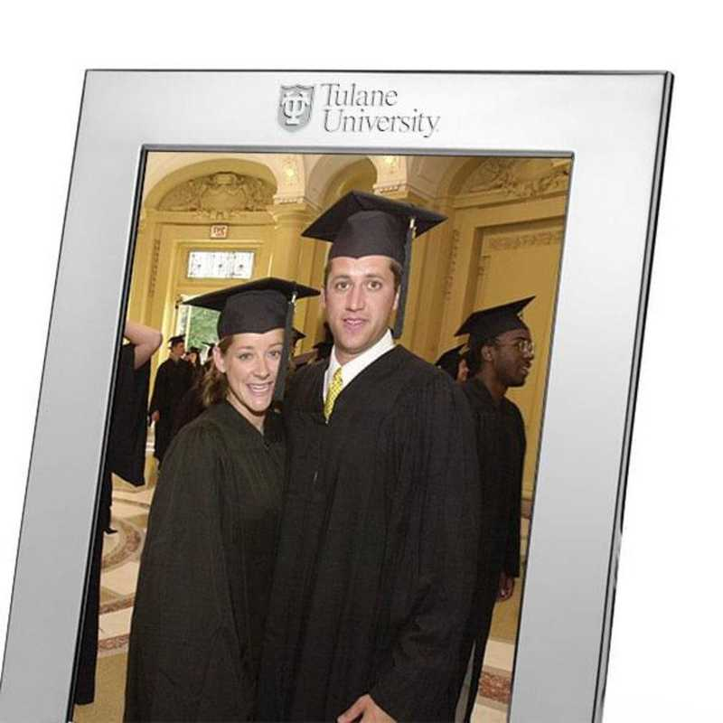 615789571995: Tulane plshed Pewter 8x10  Frame by M.LaHart & Co.