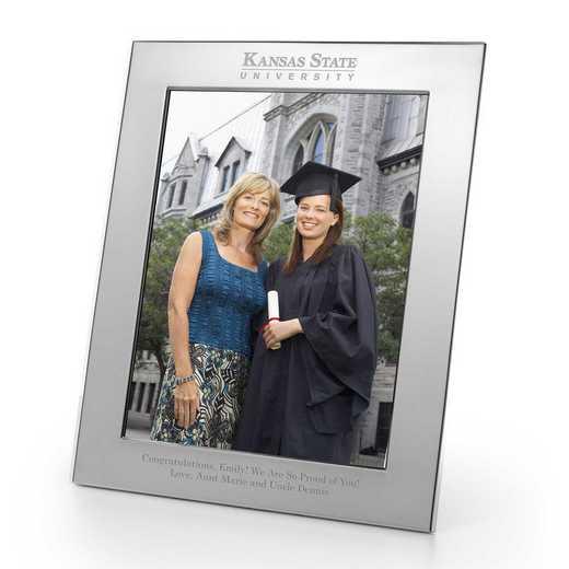 615789608790: Kansas State Univ plshed Pewter 8x10 Frame by M.LaHart & Co.