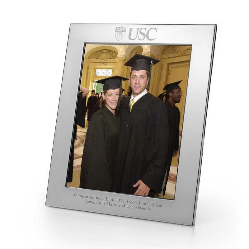 615789759683: Univ of Southern California Polished Pwtr 8x10 Picture Frame