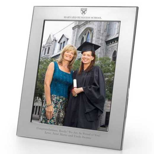 615789765707: Harvard Business School Polished Pewter 8x10 Picture Frame