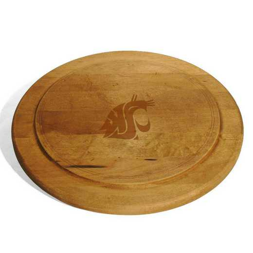 615789489436: Washington State Univ Round Bread Server