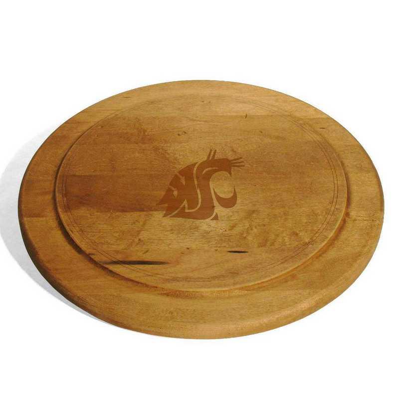 615789489436: Washington State Univ Round Bread Server