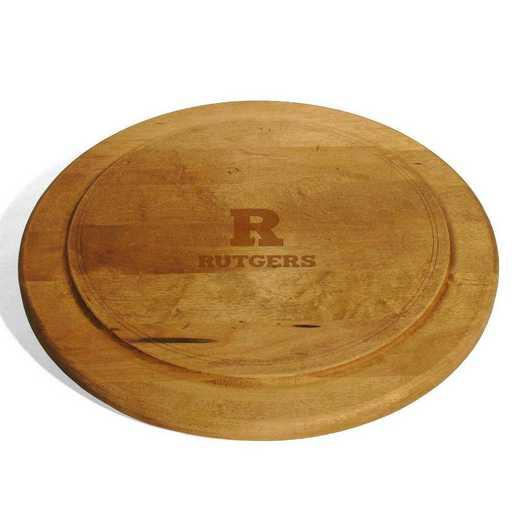 615789925859: Rutgers Univ Round Bread Server